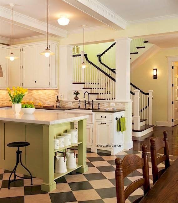 Inneneinrichtung, Traditionelle Küchen, Küchen Design, Ideen Für Die Küche,  Küchenfotos, Scheunenküche, Küchen Retro, Familienküche, Küche Esszimmer