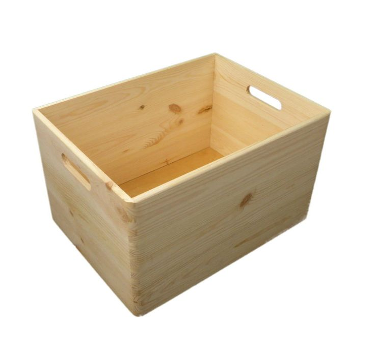 17 best ideas about wooden storage boxes on pinterest kids storage living room toy storage. Black Bedroom Furniture Sets. Home Design Ideas