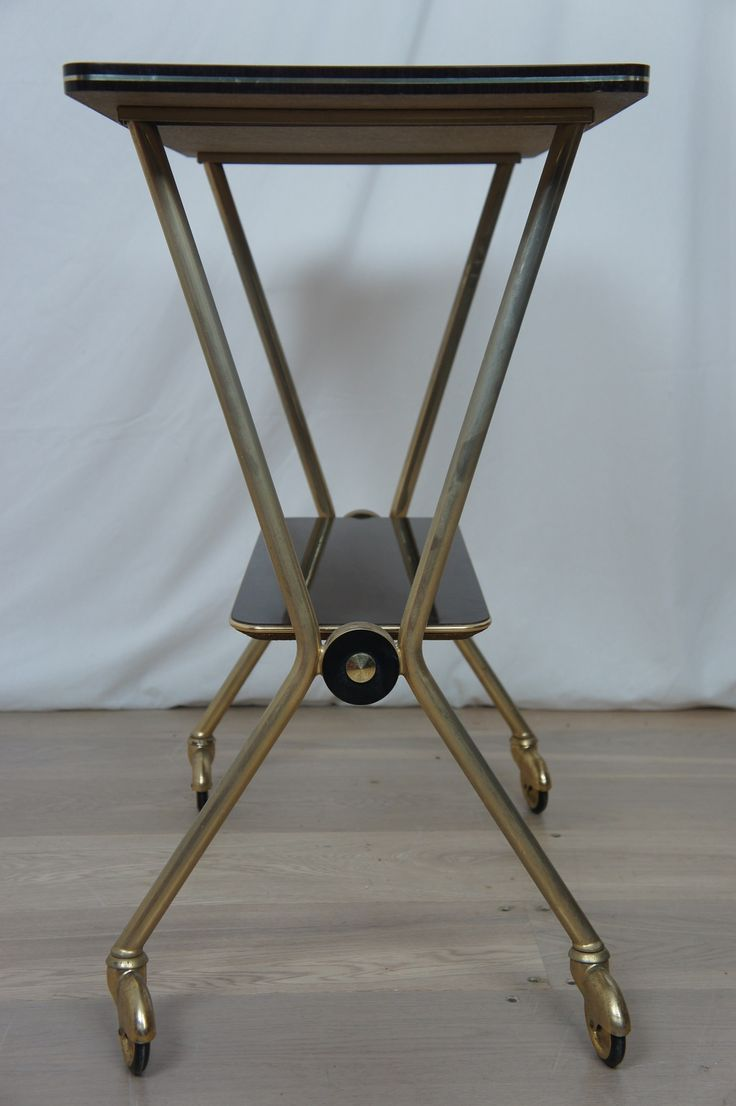 Small Mid Century Drinks Trolley