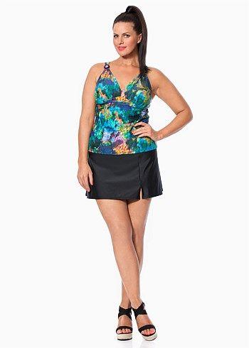 #TS14+ Linda Tankini Top #plussize #swim #curvy