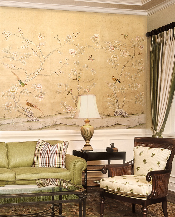 Paul montgomery wallpapers Chinoiserie collection So beautful
