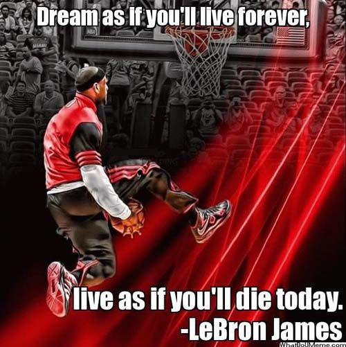 LeBron James forever