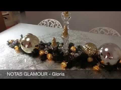 Centros De Mesa Navideños Elegantes - YouTube