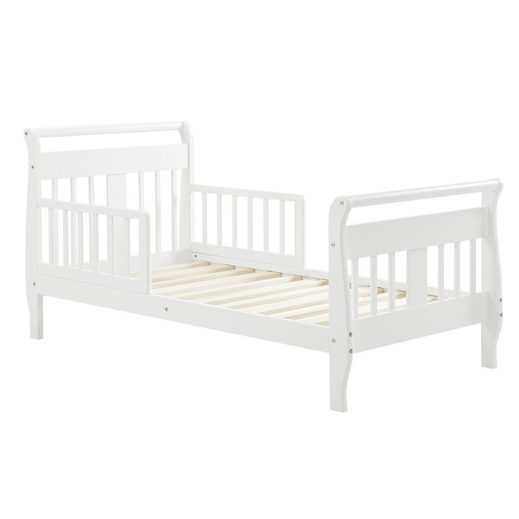 Baby Relax Apollo Sleigh Toddler Bed White   Toddler bed ...