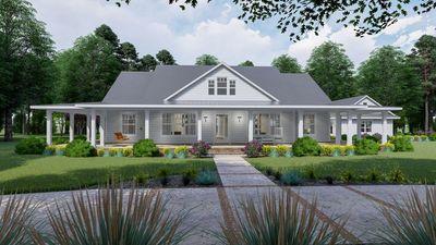 plan 16901wg modern farmhouse plan with wraparound porch and bonus rh pinterest com