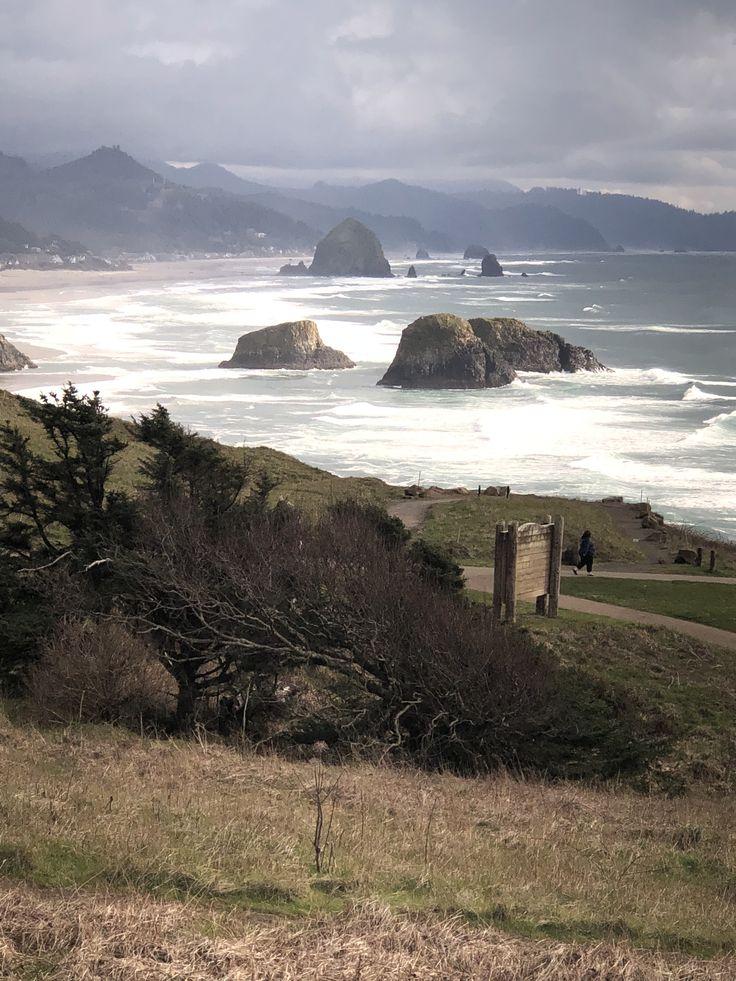 Ecola State Park Oregon Coast just