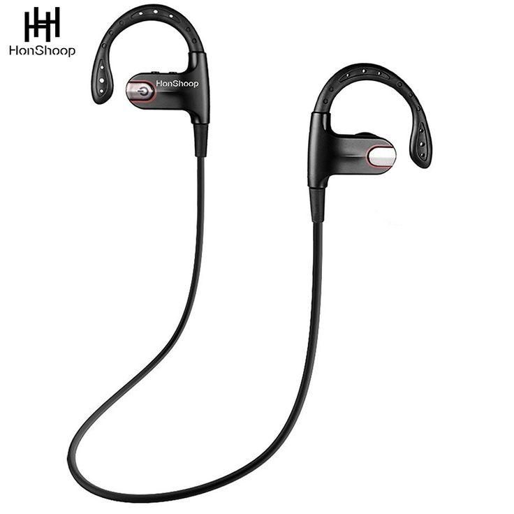 Sport headphones bluetooth 4.1 Workout Earphones True HD Stereo Sound Super Bass Noise Cancelling Headphones Sweatproof  #Affiliate