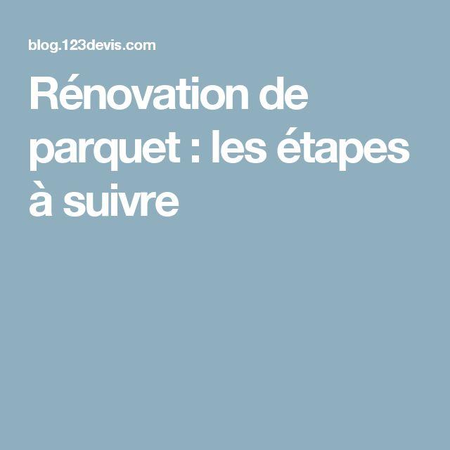 Rénovation de parquet : les étapes à suivre