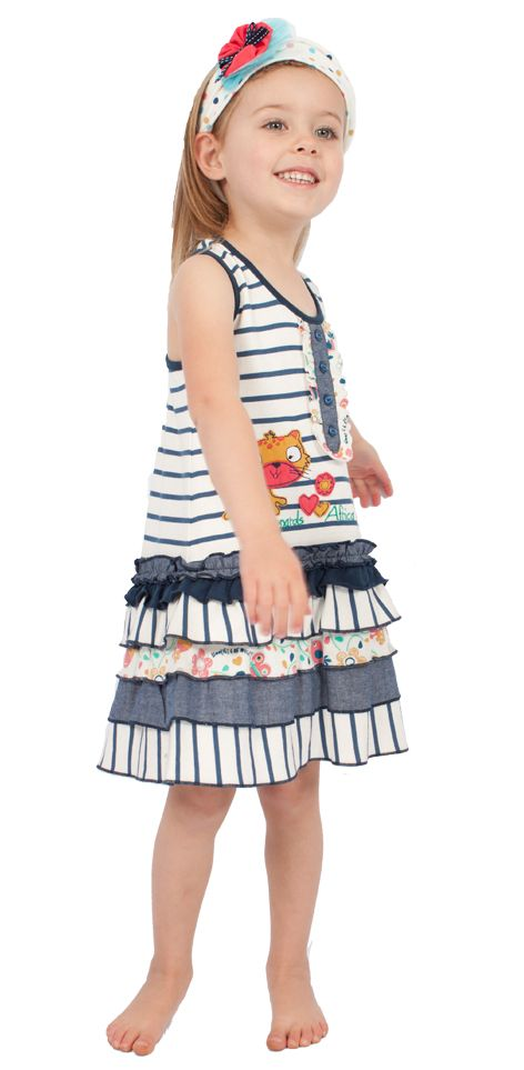 Nautical animals on Cotton knit & chambray. Cool summer blues. #fairtrade #childrensclothing #southafrica
