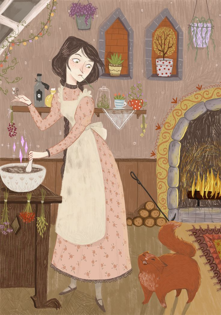 I'm noisy today and I want to post this illustration separately from others. I…