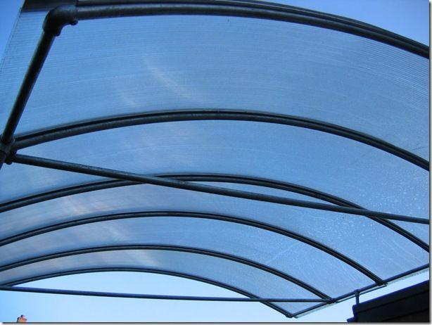PVC awning