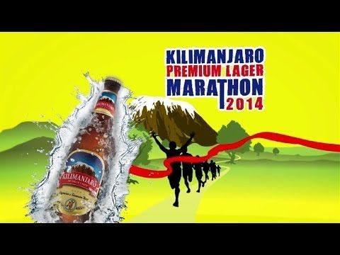 KILIMANJARO MARATHON 2014 PART 1 of 2 www.kilimanjaromarathon.com