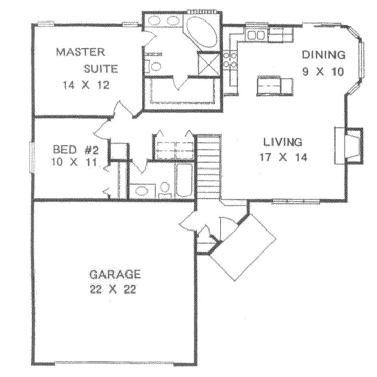17 Best Images About Houseplans 1000 1099 On Pinterest