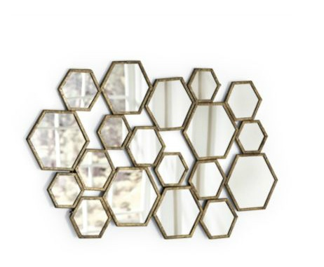 1000 Images About Hexagon Mirror Clusters On Pinterest