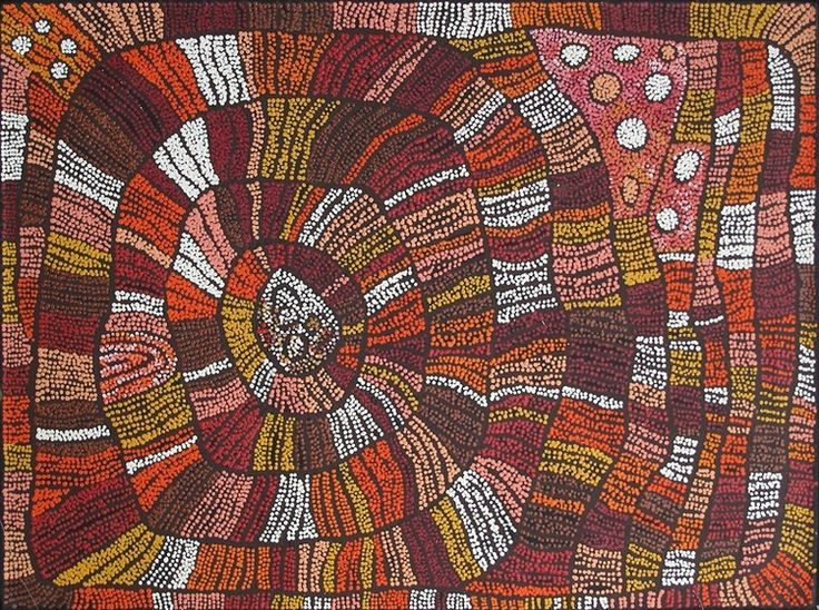 #11392 Esther Bruno Nangala 'Untitled' 122cm x 91cm