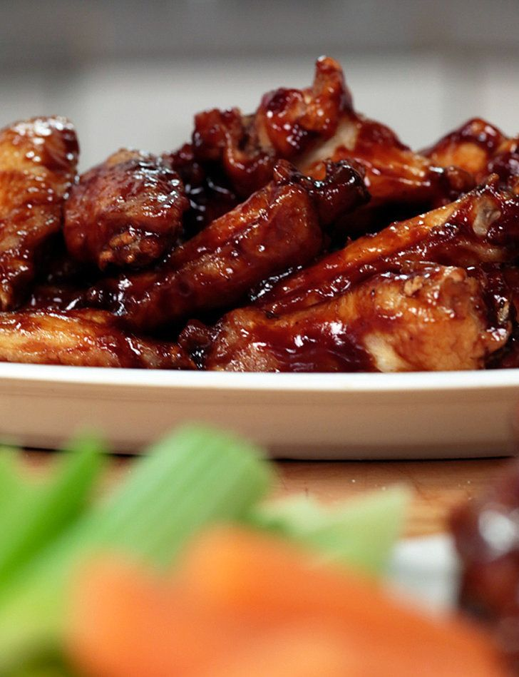 Make any dinner almost as much fun as Super Bowl Sunday by serving this take on Buffalo Wild Wings' honey-barbecue wings.