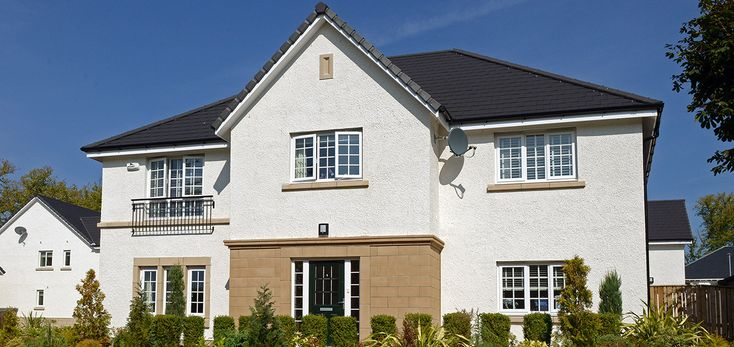 Silicone Roughcast, Helensburgh | K Rend