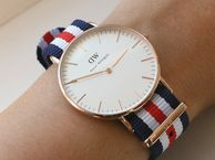 Spoil mum with The Daniel Wellington watch - a Swedish design - thin and refined and blends perfectly with colourful Nato strap and classic genuine leather.  Available at Rokoko