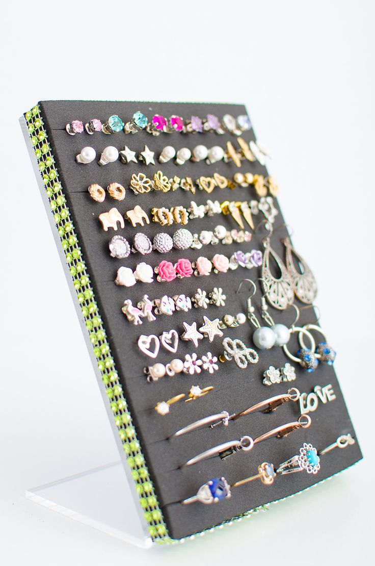 Best 25+ Stud Earring Storage Ideas On Pinterest  Stud Earringanizer,  Diy Jewelryanizer Andanize Earrings
