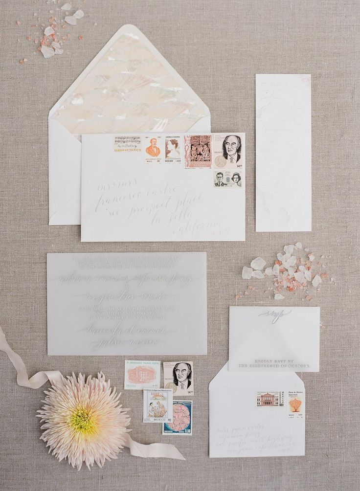Beautiful wedding stationary suite by Amber Moon Design (c) Greg Finck