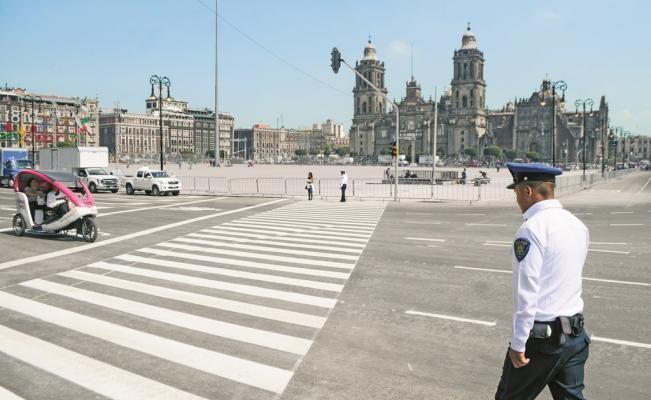 Cierran circulación en Zócalo por concierto de Timbiriche - El Universal