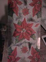 Christmas glass plate