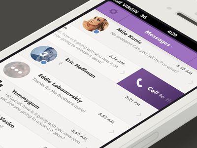 Viber app (iOS) by Luboš Volkov