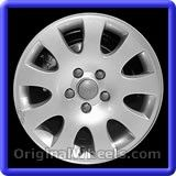 Audi A6 2004 Wheels & Rims Hollander #58717 #Audi #A6 #AudiA6 #2004 #Wheels #Rims #Stock #Factory #Original #OEM #OE #Steel #Alloy #Used