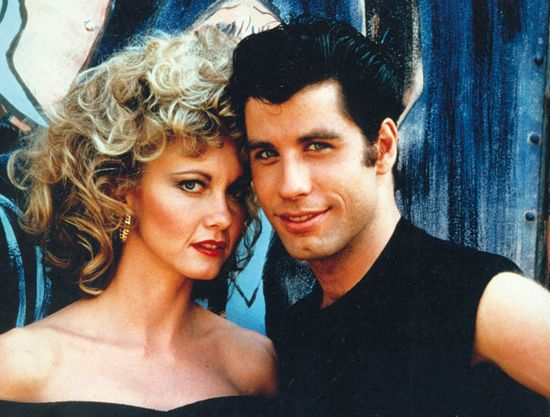 Sandy and Danny... Grease (1978), of course!