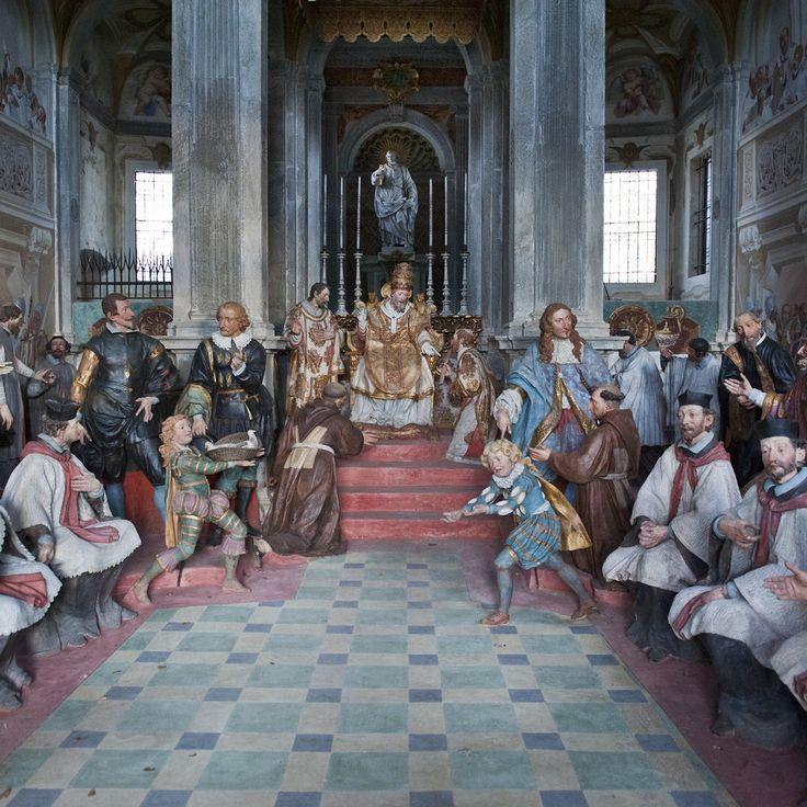 Sacro Monte di Orta ad Orta San Giulio (No)   Scopri di più nella sezione Itinerari del portale #cittaecattedrali