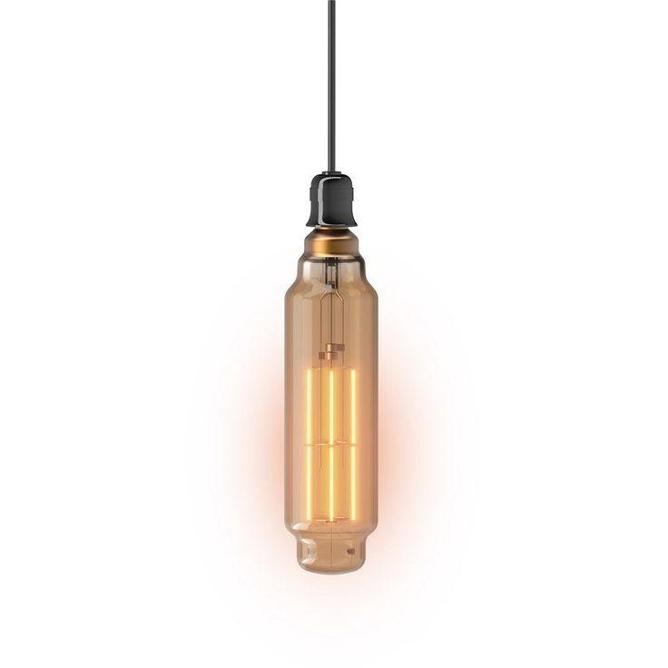 Ampoule Filament Led Compatible Variateur Tube E27 8w 800lm 1800k Xanlite Ampoule Filament Ampoule Et Led