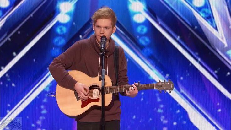 America's Got Talent 2017 Chase Goehring Singer Songwriter Is Next Ed Sh...