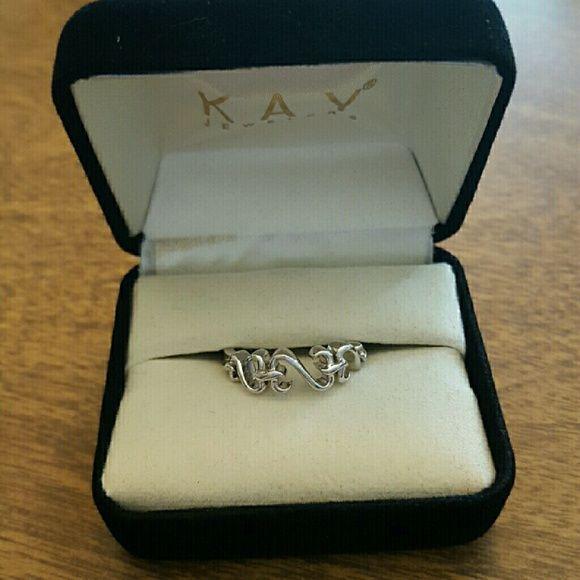 Open Heart Jane Seymour ring Beautiful Open Heart ring. Kay Jewelers Jewelry Rings