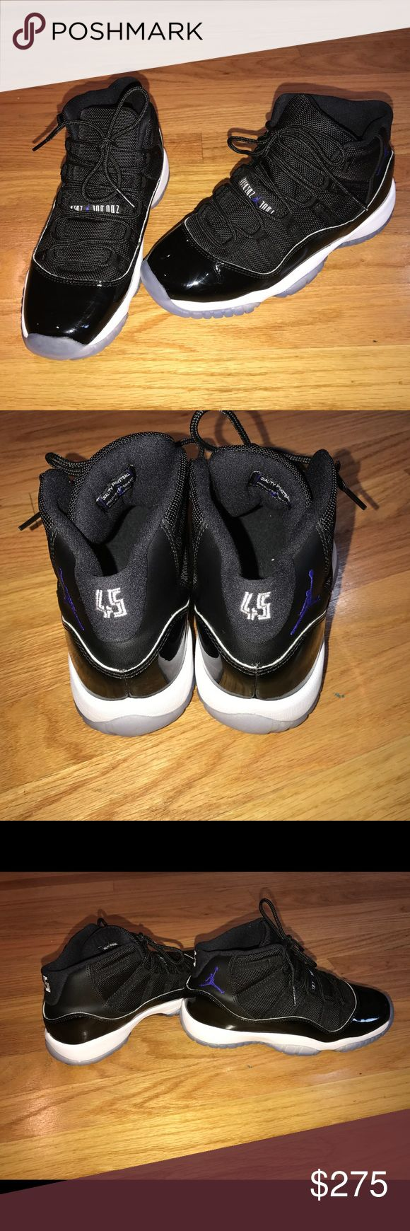 Jordan 11s- Space Jam 2016 Size 5.5 Boys DEAD STOCK!!!! Worn only TWICE !!!! Brand new. Also have a matching size 6c kids. I Have A Pair Of Jordan 11 Space Jams 2016 Size 5.5  1000% Real From Foot Locker.. I Don't Sell Fakes Or Replicas  No Returns, They Are Real, and You Should Know What Size You Wear  Will Only Ship Within The United States Unless Messaged First And Can Agree On A Shipping Cost  Thanks For Looking Air Jordan Shoes Sneakers