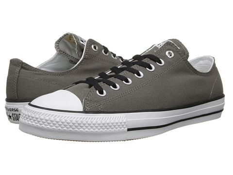 Converse Ctas Pro Ox Gray/White - Zappos.com Free Shipping BOTH Ways