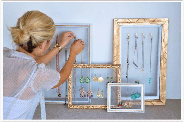 jewelry hanger diy