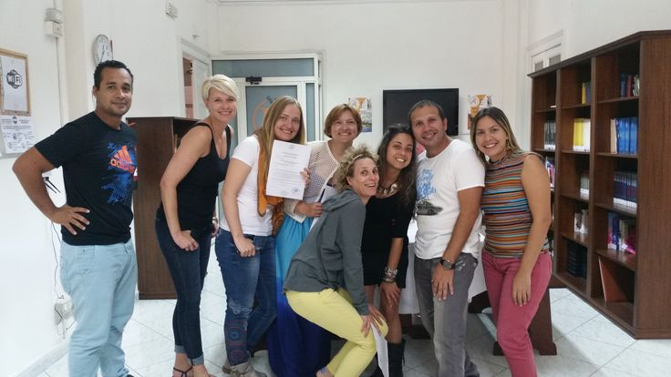 At the end of each #course students receive a #certificate showing the length of the course and the #language level achieved.
