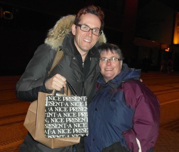 Met up with the gorgeous @ActualBenMiller before going 2 see @the_duck_house last evening :D
