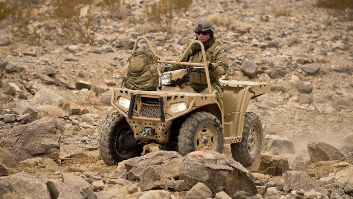 Armata germana va primi in dotare ATV-uri Polaris!