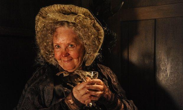 Mrs Gamp (Pauline Collins) in Dickensian