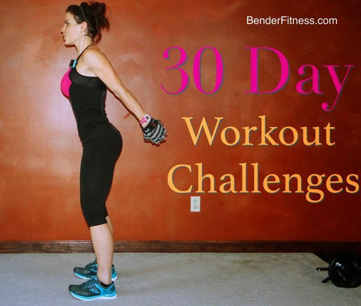 Melissa Bender Fitness: 30 Day Fitness Challenges. 6 Different 30-Day Fitness Challenges You can Do at Home! #BenderFitness