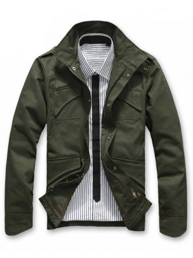 Men's Army Jacket. http://www.thefunkyskull.com/collections/mens-shirts/products/mens-army-jacket