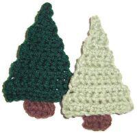 Crochet Christmas Trees: Trees Patterns, Xmas Trees, Crochet Christmas Cards, Crochet Trees Ornaments, Crochet Christmas Trees, Trees Crochet, Easy Crochet Ornaments Trees, Christmas Trees Ornaments, Christmas Tree Ornaments