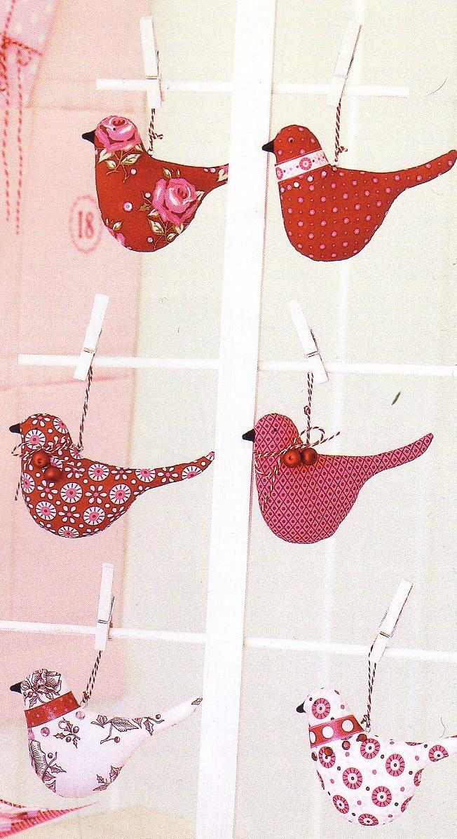 Birds --- Design by Tone Finnanger --- http://www.tildasworld.com/