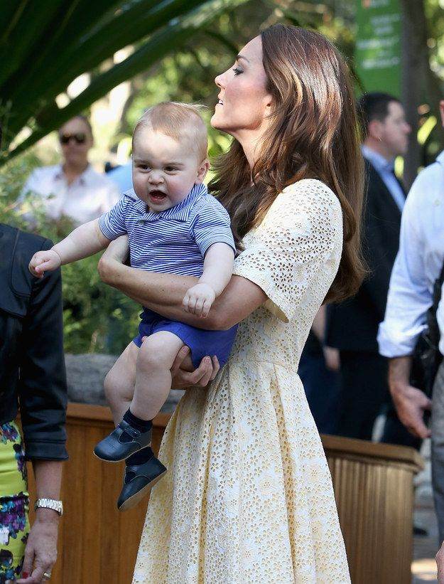 I WANT TO TOUCH THE BILBY! | The Official Ranking Of Prince George's Best Facial Expressions -- He is soooooo cute!!
