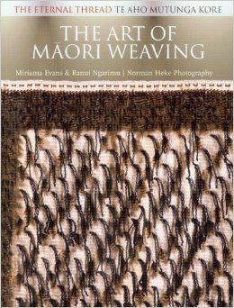 This stunning book presents a photographic survey that traverses the concepts and values of traditional Maori weaving through to innovative, contemporary weaving practice. The evocative photos and text reveal the spiritual significance of weaving within Maori culture.  http://ils.stdc.govt.nz/cgi-bin/koha/opac-detail.pl?biblionumber=1288&query_desc=