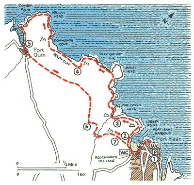 Port Isaac to Portquin Walk - 6 Miles :/
