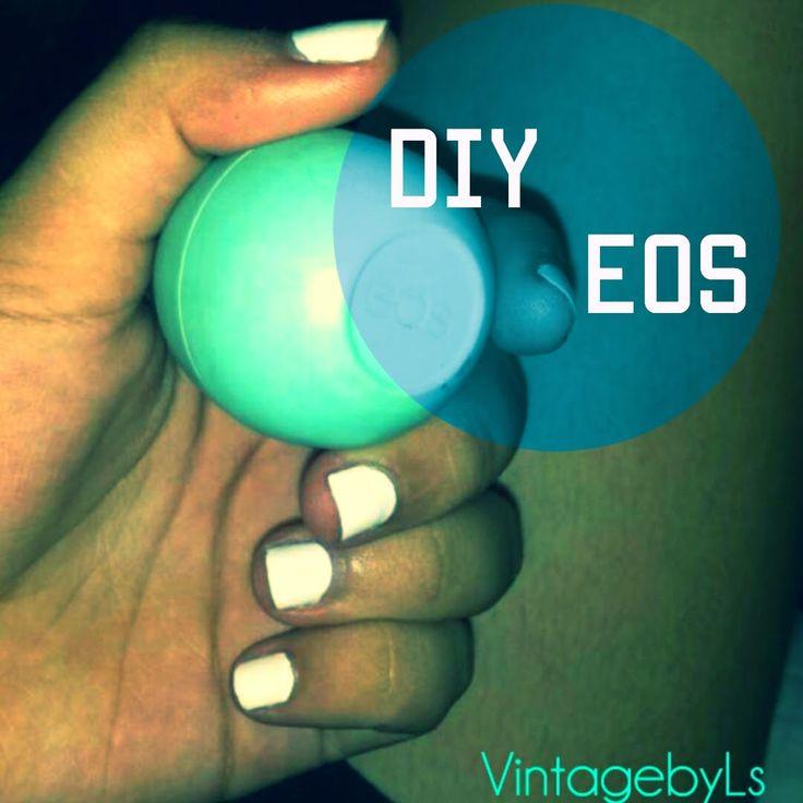 Vintage by Laura Sofia : DIY EOS LIP BALMS