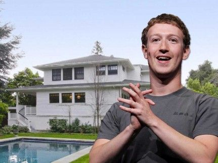 Mark Zuckerberg House Home Palo Alto House Inside