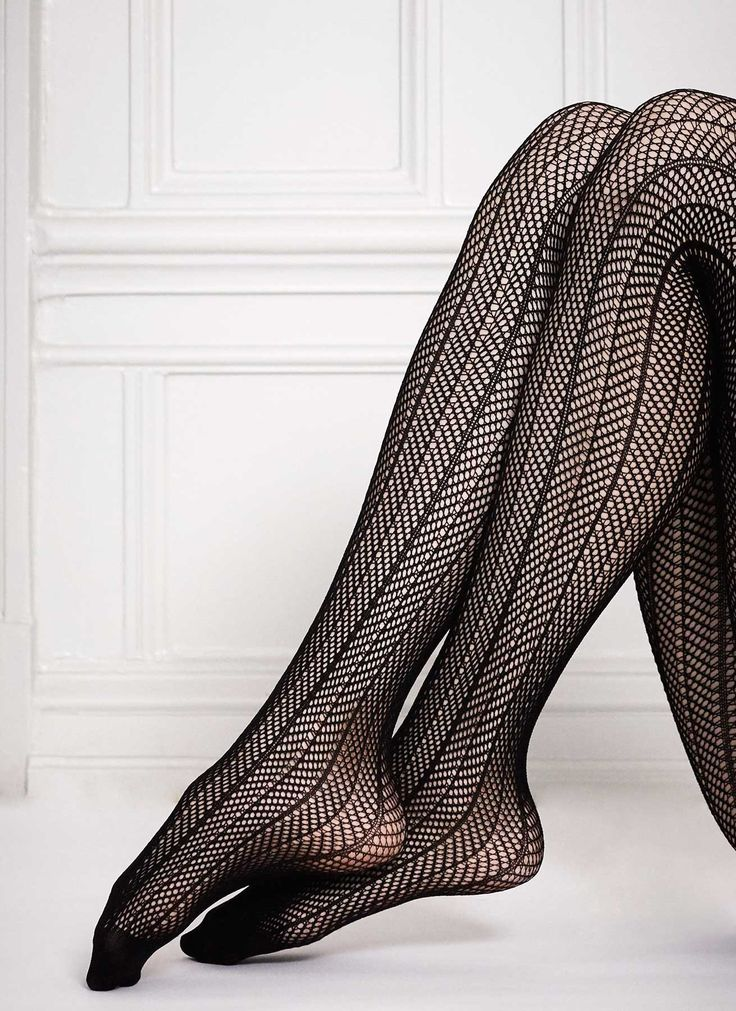 Astrid Fishnet - Patterned Stockings | Swedish Stockings - Swedish Stockings